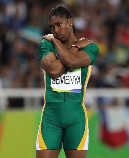 Chased by controversy: A timeline of Caster Semenya's career:  August 20, 2016  -     South Africa's Caster Semenya waits for the start of the 800-meter semifinal race during the athletics competitions of the 2016 Summer Olympics at the Olympic stadium in Rio de Janeiro, Brazil, Thursday, Aug. 18, 2016. (AP Photo/Lee Jin-man)
