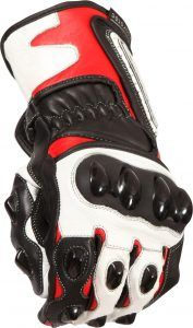 Buffalo BR30 Summer Motorcycle Gloves Black Red