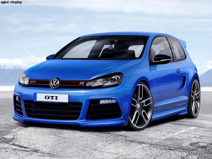 Volkswagen Golf GTi R.