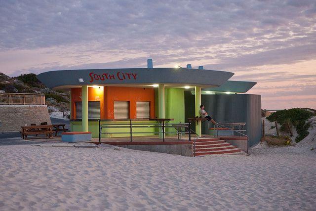 Beach Bar - Perth, Australia.