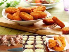 Receita Nuggets de Frango Caseiros