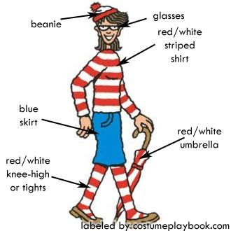 Where's Wally (Waldo) Costumes | Costume Playbook - Cosplay & Halloween ideas