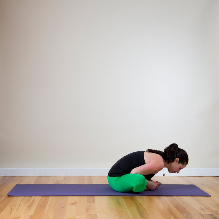 Stretch both hips at the same time with Butterfly pose.  Sit on the ground, bend both knees, and bring your...