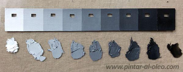 M s de 25 ideas incre bles sobre escala de grises en for Como hacer el color gris en pintura