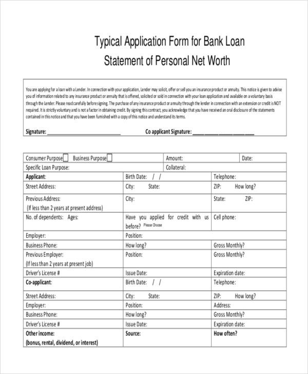 Financial Statement Template For Loan Do You Know How Many People Show Up At Financial State Statement Template Bank Statement Statement