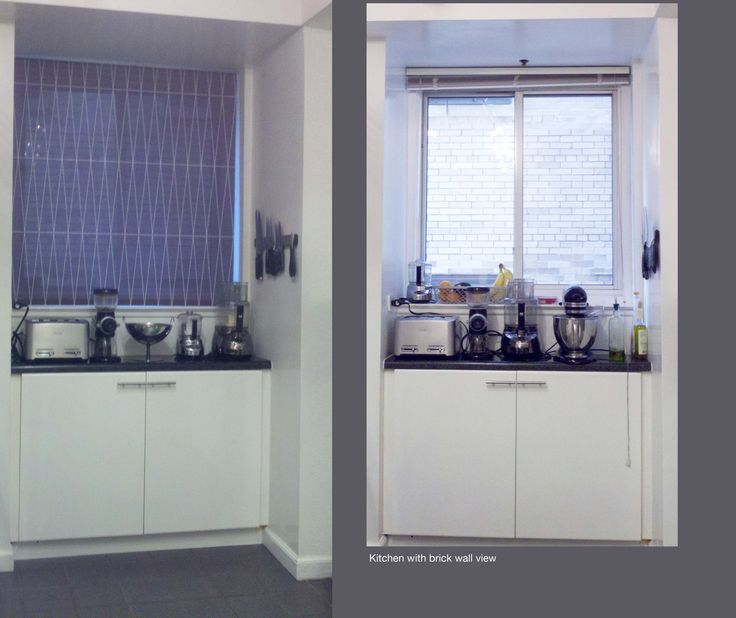Before And After: Delia Shades Changes A Bad View Of A Brick Wall. Get
