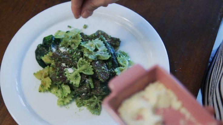 페스토 소스 파스타 만들기 (Homemade Pesto Sauce Pasta Recipe)