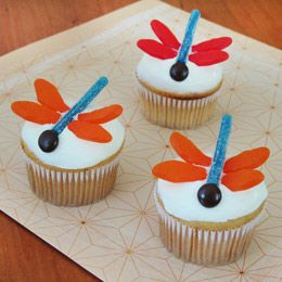 Dragon fly cakes