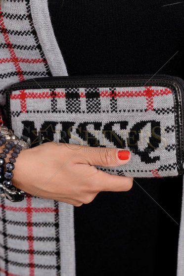 MissQ Trendy Keeper Grey Wallet