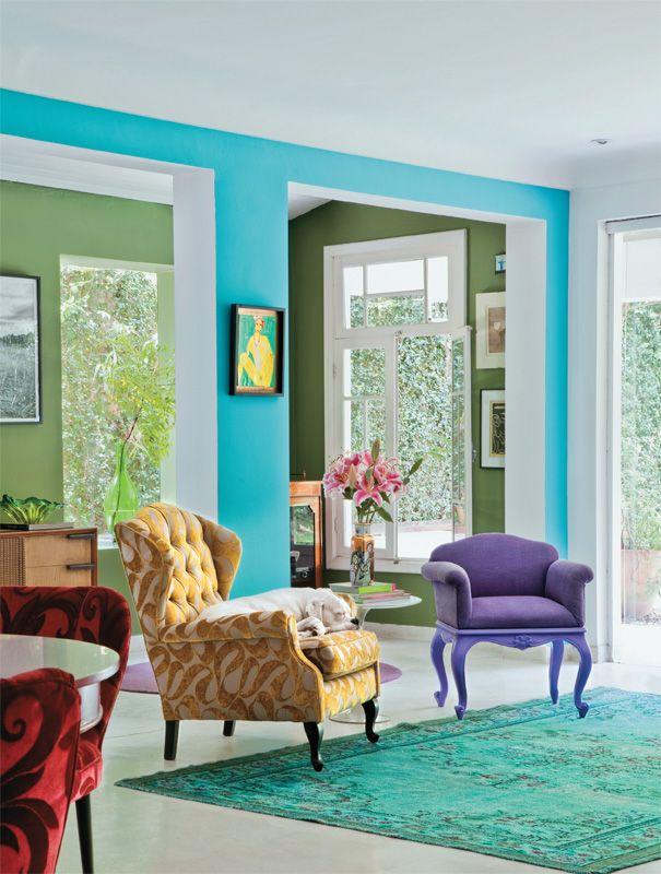 Aprenda com Neza Cesar a renovar a casa no começo do ano - Casa Love the bright colours
