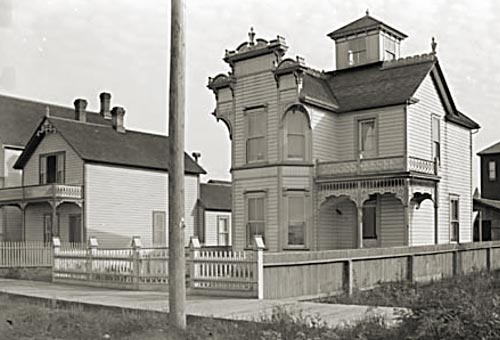 414 Alexander, seen here in this circa 1890 City of Vancouver Archives photo