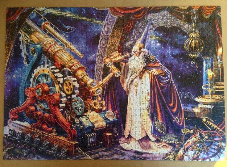 The Astronomer by ‪#‎MylesPinkney‬ 1000 pieces Mika