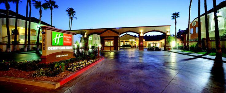 Holiday Inn Club Vacations at Desert Club Resort  Holiday Inn Club Vacations a Desert Club Resort si trova a soli 1,5 isolati dalla famosa Strip di Las Vegas, che offre il meglio dei due mondi. Godetevi una tranquilla oasi nel corso della giornata con la famiglia o con gli amici prima di uscire per la non-stop eccitazione notturno in una delle destinazioni di intrattenimento più eccitanti del mondo.   Spaziose 1 e 2 camere da letto ville variano nel formato da 510 -.. 1490 piedi quadrati e…