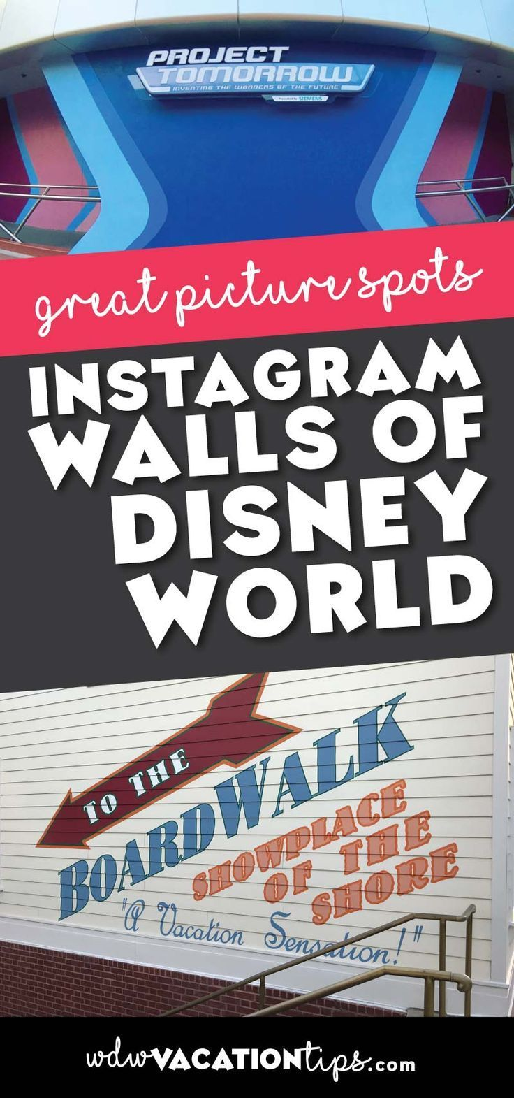 If you haven't been on Instagramlately, you may have missed out on some of the famous walls of Disney World. These are the hot spots to snap your picture at Disney World.