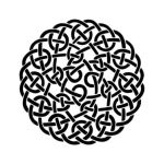 celtic knot: The Celtic knot is a symbol mainly known form Celtic culture, but has been used in different variaties in other cultures like Roman, Copts etc., especially midieval cultures all around the world. The origin of the Celtic knots dates back to the Celtische cultere in the 3rd and 4th century.