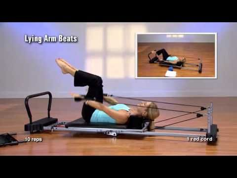 AeroPilates 55-5000 5 cord Level 1 Pure Pilates - YouTube