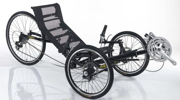 3 wheel recumbent style adult bike