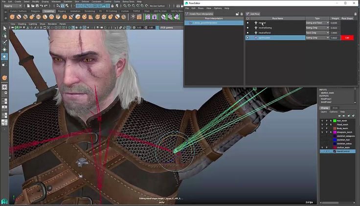 Maya 2016 Extension 2: Pose Editor