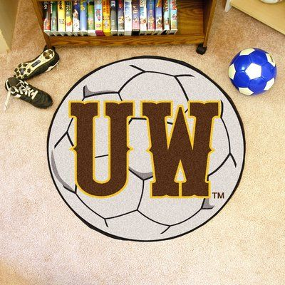 FANMATS NCAA University of Wyoming Soccer Ball