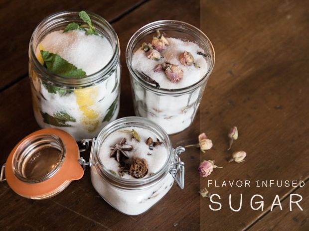 Flavor-infused Sugars by Caitlin LevinBlakeney Estes, Caitlin Levine, Pretty Jars, Flavored Sugar, Flavoured Infused, Flavorinfus Sugar, Flavored Infused Sugar, Amazing Gift, Justina Blakeney