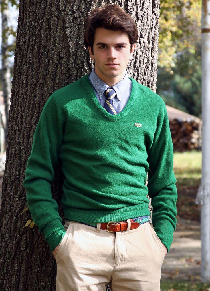 Preppy Casual, Men Clothing, Fashion Style, Preppy Boys, Men Style, Men Fashion, Golf Club, Gardens Parties, Lacoste Sweaters