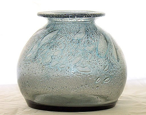 Art Glass Vase probably by Benny Motzfeldt, Norway. All photos are mine of items I own.