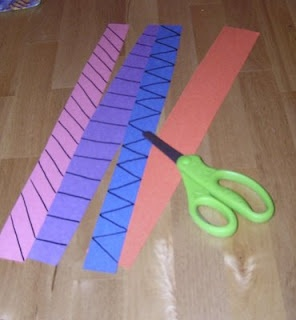 Just an easy way to teach a kid about scissors. But why didn't I think of that?? (momandkiddo.blogspot)