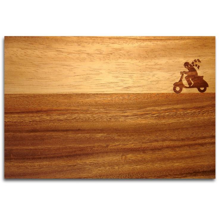 Vespa Cutting Board