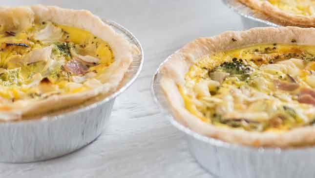 Mini quiches jambon et fromage | LC Living