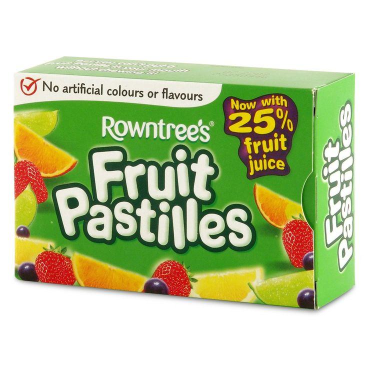 Fruit Pastilles!