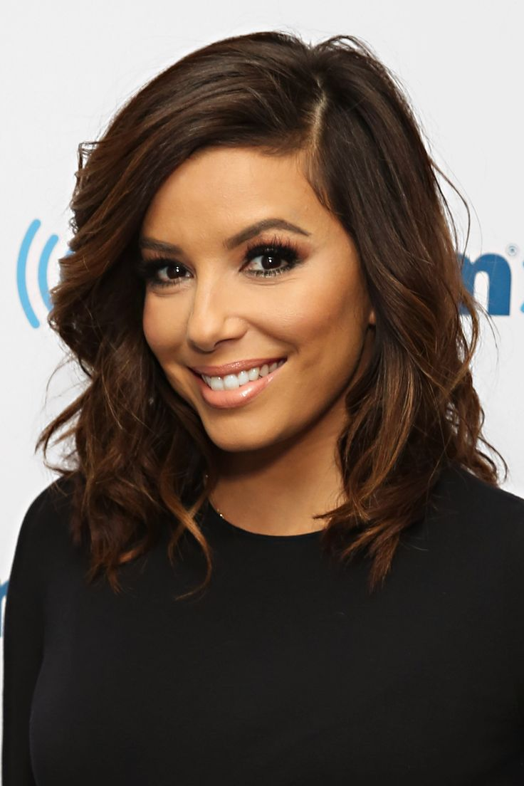 Eva Longoria Midlength And Soft Haircuts For Long Hair