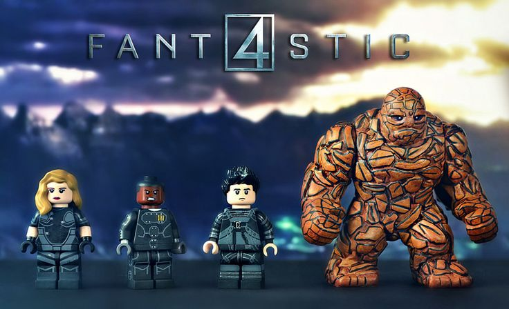 LEGO Fantastic Four Minifigures | by MGF Customs/Reviews