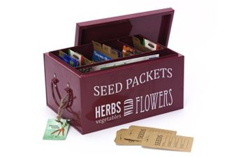 Get your seeds in order with a Seed Packet Organiser with monthly dividers and seed storage envelopes to collect your own seeds. £19.36