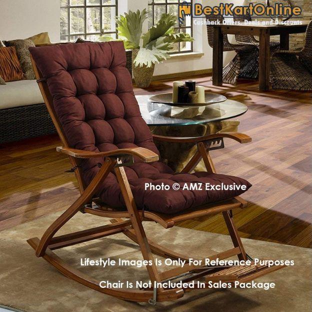 Amz Exclusive Premium Quality Soft Rocking Chair Cushions Home Cotton Cushion Long Chair Pad 48 X 16 Inc Cushions On Sofa Rocking Chair Rocking Chair Cushions