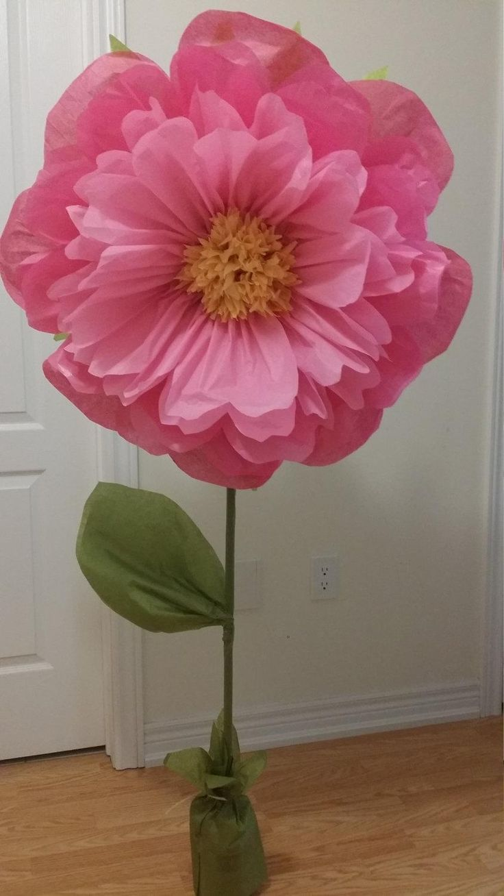 Best 20 large paper flowers ideas on pinterest paper flowers large paper flowers 30 to 15 tissue paper flowers with stem dhlflorist Image collections