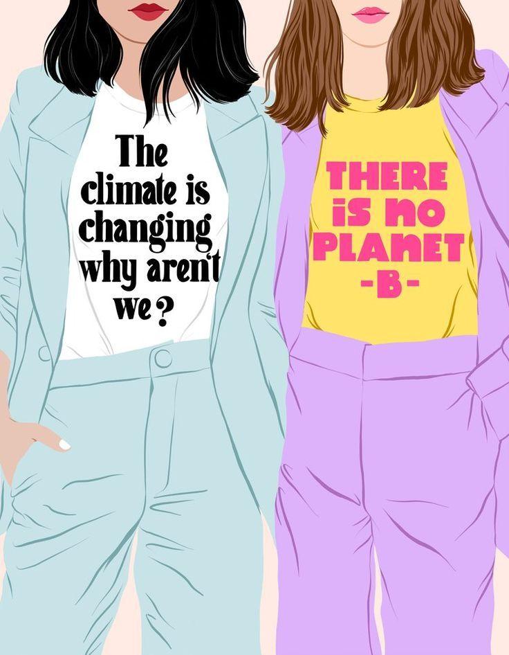 Illustration Art Drawing Wallpaper 66 Ideas For 2019 Freundlich, Slow Fashion, Ethical Fashion, Grafik Design, Global Warming, Climate Change, Sustainable Fashion, Sustainable Fabrics, Sustainability
