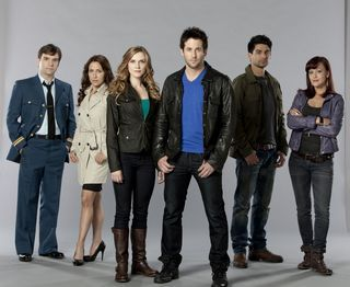 """The cast of the Canadian spin-off of """"Primeval: New World"""", premiering in October on SPACE in Canada and in the US on SyFy in 2013!"""