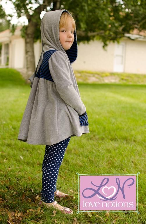 Looking for your next project? You're going to love Love Notions Hazelwood Hoodie & Tunic by designer Love Notions.