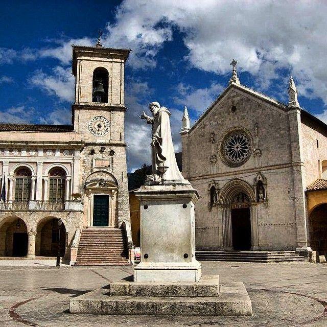 Norcia in Umbria, Italy | @InUmbrie
