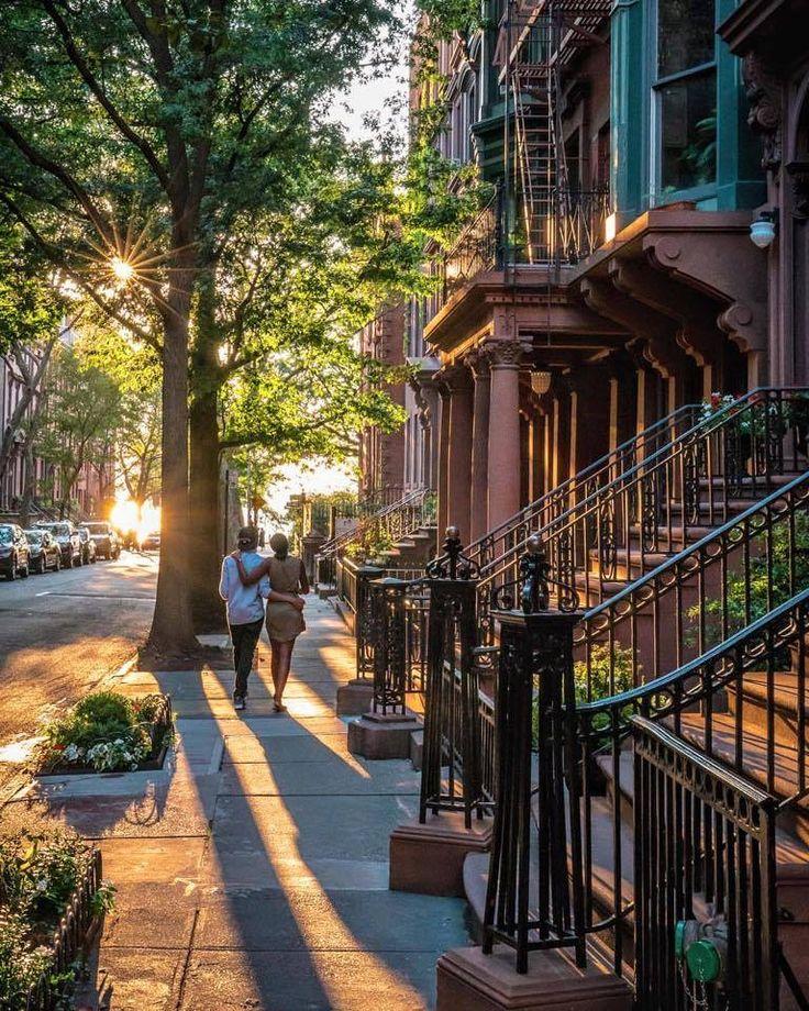 Sunset in Manhattan - NYC, USA