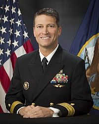 Rear Admiral Ronny L. Jackson Dr. that performed health exam on trump 1-12-2018