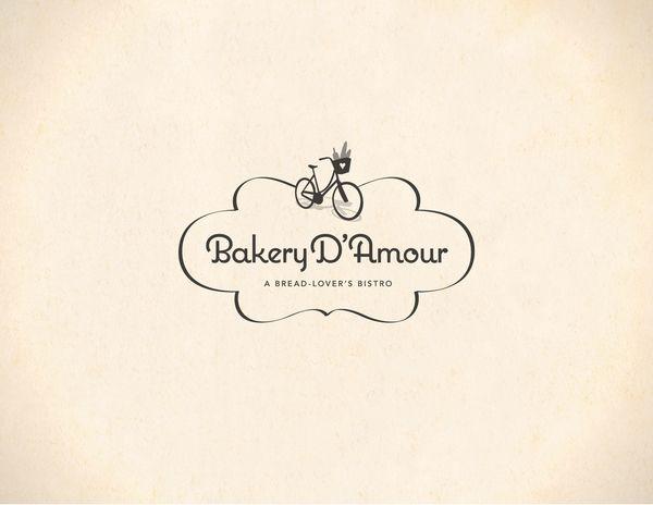 Bakery D Amour Bakery Inspiration Bakery Logo Design