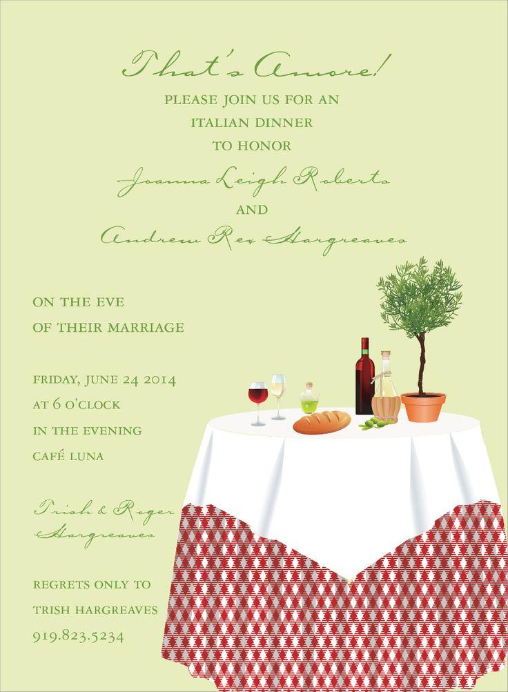 12 best Rehersal dinner invite images on Pinterest | Invites ...