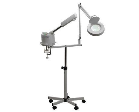 2 IN 1 MAGNIFYING LAMP FACIAL STEAMER PRO Grade BEAUTY SALON SPA Equipment by Salon Supply Store. $139.99. Light weight makes it easy to manuever through your salon or home. Be the talk of the town with this professional grade & one-of-a-kind steamer. Stylish design fits into any home or salon décor. Perfect accessory for any professional salon or home. Incredible quality at an even more amazing price. Professional 2 in 1 FACIAL STEAMER & 5x Magnifying lamp. Th...