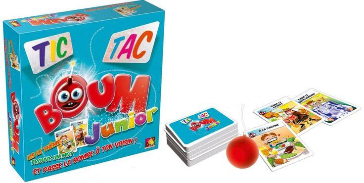 Des jeux pour le FLE : TIC TAC BOUM JUNIOR