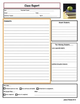 substitute feedback forms
