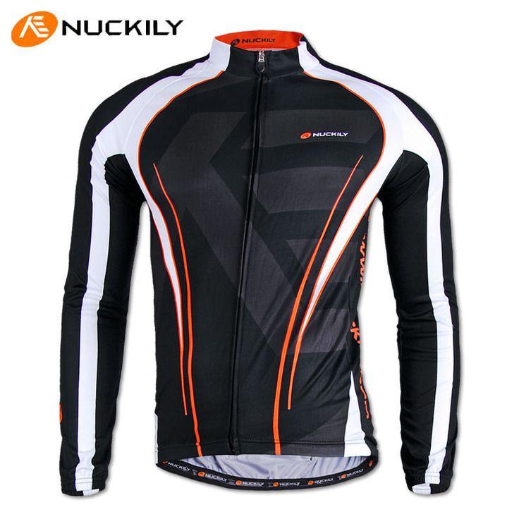 Mens Cycling MTB Clothing Jersey Bicycle Sportswear Long Sleeve Bike Shirt Top