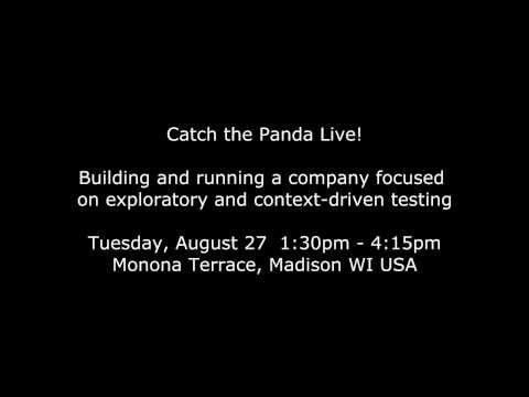 Catch the Panda Live! @ CAST 2013