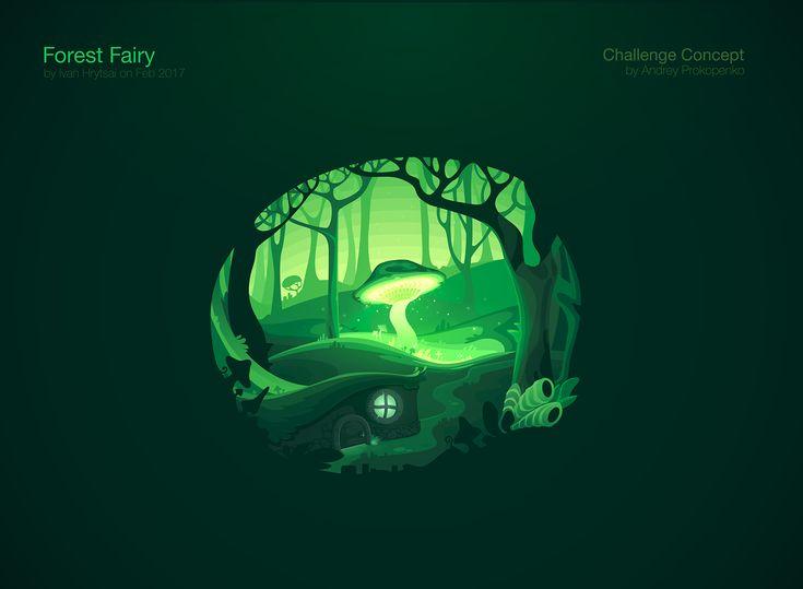 Fairy Forest on Behance