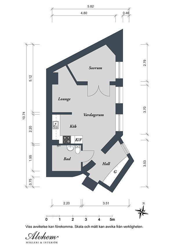 Tolle Erstaunliche Moderne Wohnungsrenovierung Knq Associates ...
